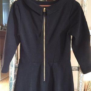 Boden Black stretch knit pencil dress size 8R